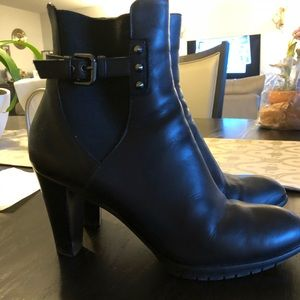 Aquatalia Black booties